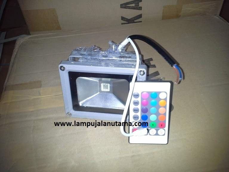 lampu sorot led 20.30,50 watt RGB