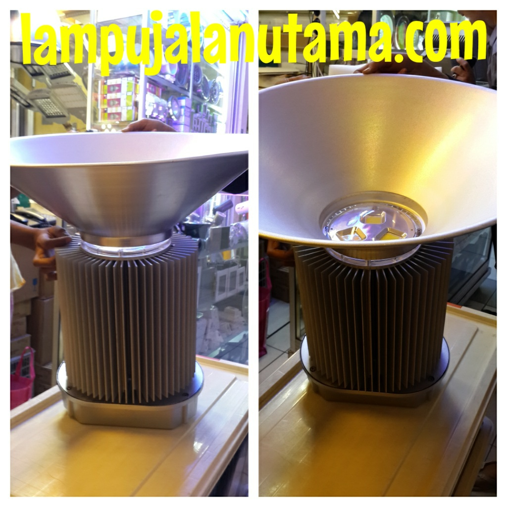lampu led industri led highbay 210watt dan 200watt