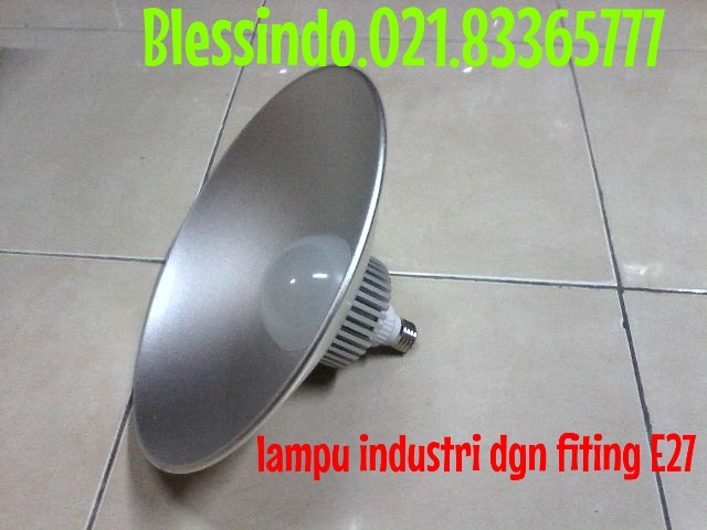 lampu industri led model bulb fiting E27 merk cardilite
