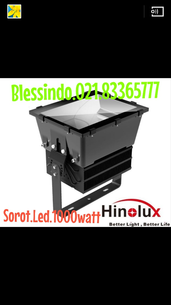 lampu sorot led 1000watt merk Hinolux