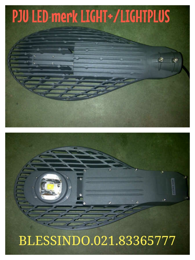 Lampu Jalan PJU Led merk Light+ / LIGHTPLUS