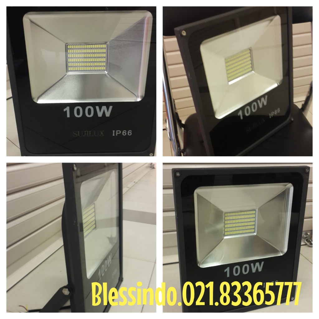lampu sorot led 100watt ip66