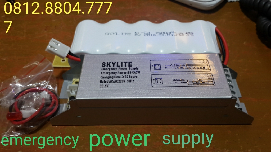 Emergency power supply