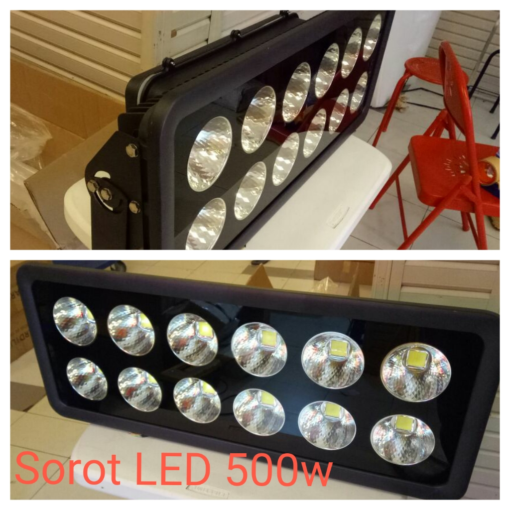 Lampu sorot led 500watt merk Technoled