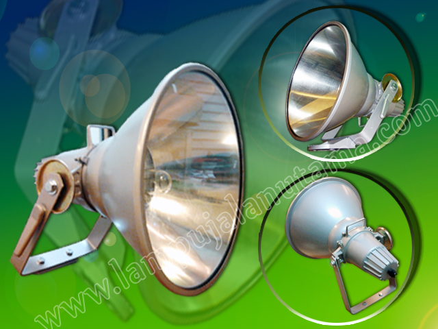 Lampu Tembak Model Corong 250 - 400 Watt